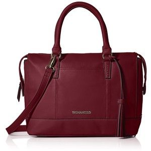 Tignanello Urban Casual Barrel Satchel Shoulder Bag - $69