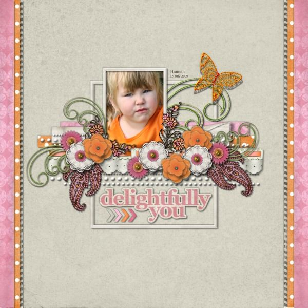 Mars Gimme More  This delightful kit is filled with sweet flowers and pretty colours!  CREDITS: Paisley Pop and  Paper Phrases by Lauren Bavin