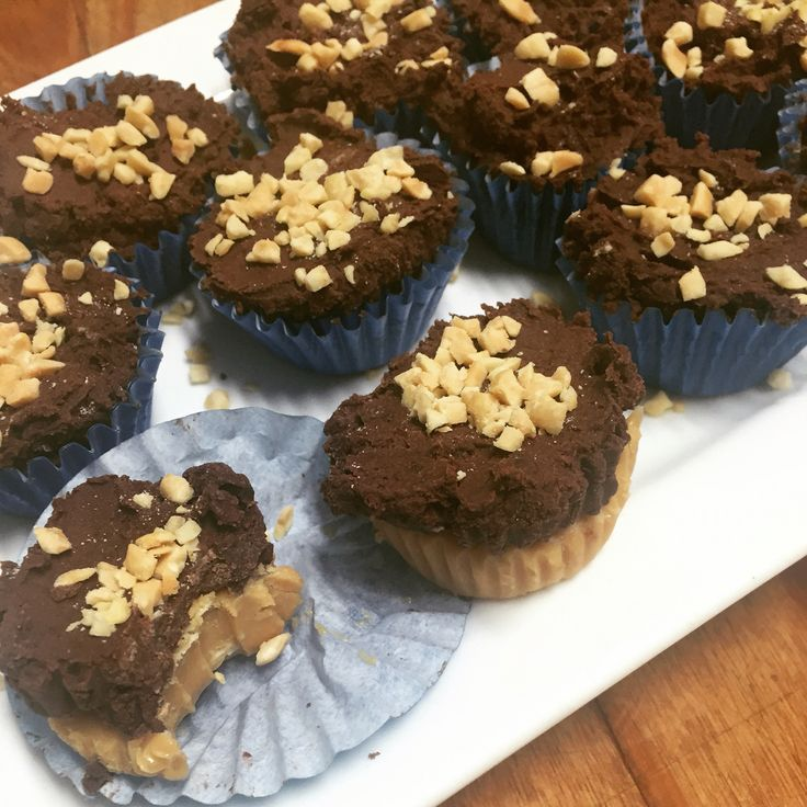 Clean healthy peanut butter cups!