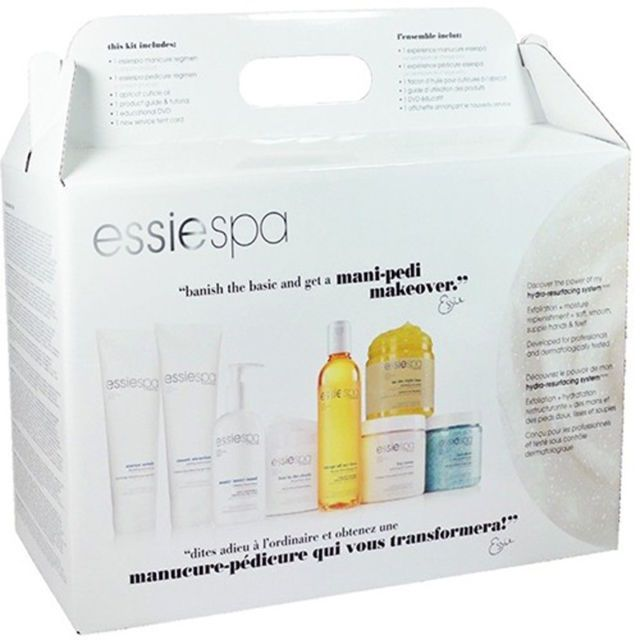 Essie Spa Manicure - Pedicure 9 Piece Kit $107.95 Visit www.BarberSalon.com One stop shopping for Professional Barber Supplies, Salon Supplies, Hair & Wigs, Professional Product. GUARANTEE LOW PRICES!!! #barbersupply #barbersupplies #salonsupply #salonsupplies #beautysupply #beautysupplies #barber #salon #hair #wig #deals #sales #Essie #Spa #Manicure #Pedicure #9Piece #Kit