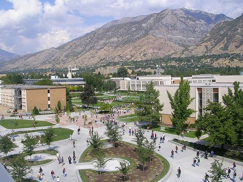 BYU Campus From Above - Utah by Spaz Du Zoo, via Flickr