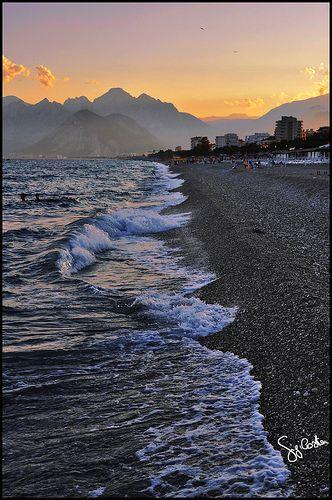 Coast of Antalya Turkey