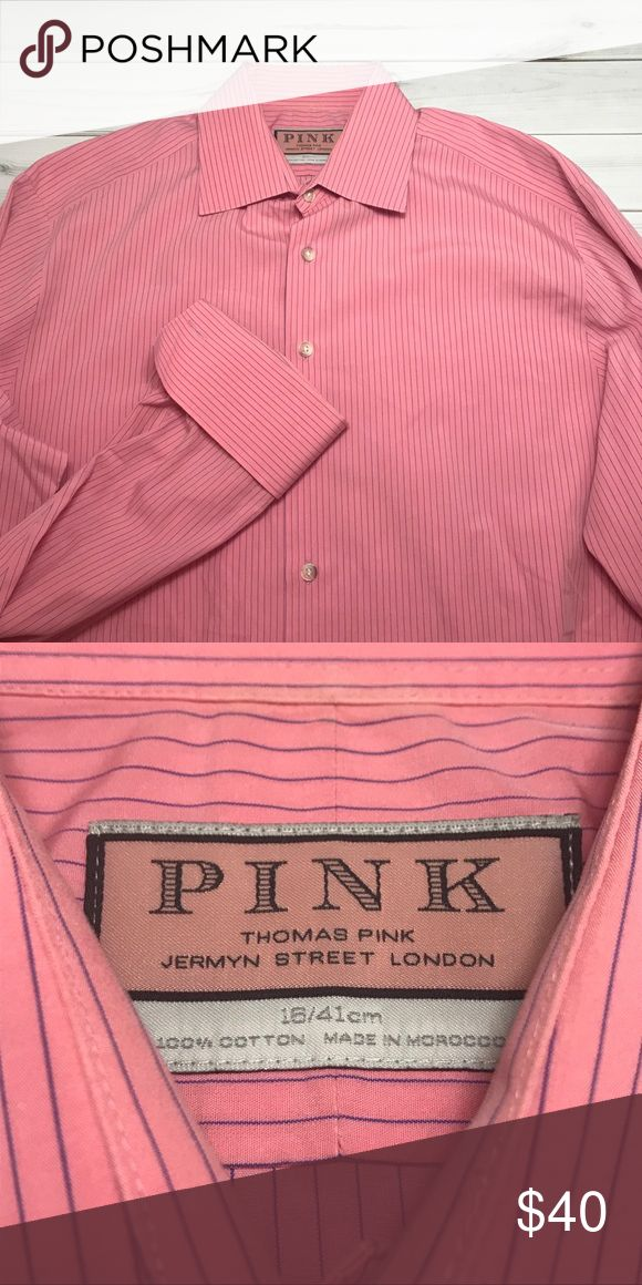 Thomas Pink Jermyn Street London French Cuff Gently used in excellent condition; Thomas Pink French Cuff Shirt. Thomas Pink Shirts Dress Shirts