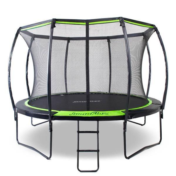 Flex120 12ft Trampoline In 2020 Backyard Trampoline Backyard For Kids 12ft Trampoline