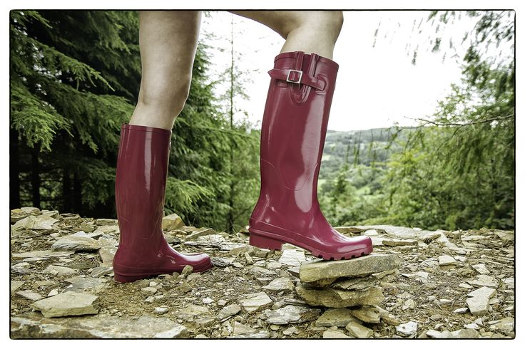 The great outdoors with Rockfish rain boots www.rockfishwellies.com