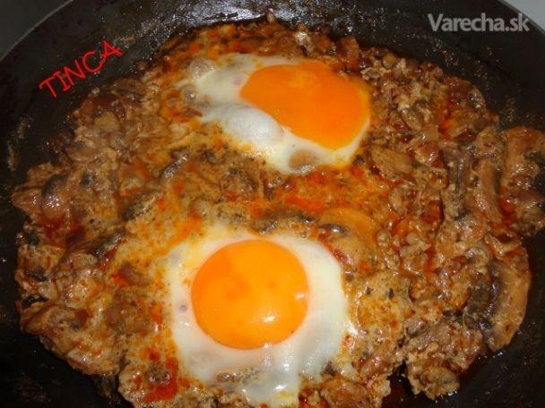 Hubová panvica - Recept