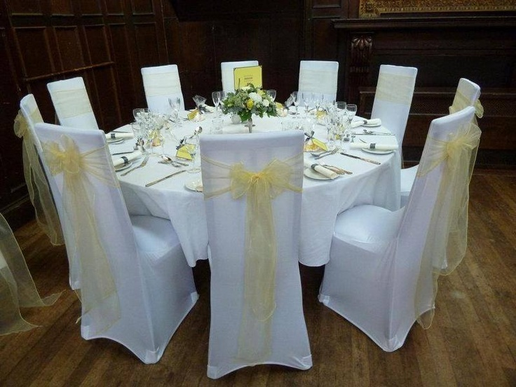 Chair Cover Bows 32 best chair coverslovely weddings images on pinterest