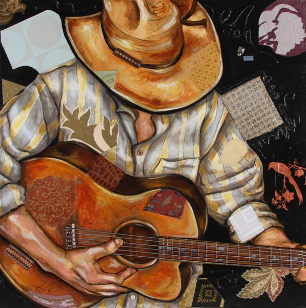"""cowboy playing guitar. art  """"At Last, You Can Learn Guitar And Popular Worship Songs With A Step-By-Step Guide In Just 30 Days!""""  Click link below and learn how! http://smb06.org/guitar-learning-system"""