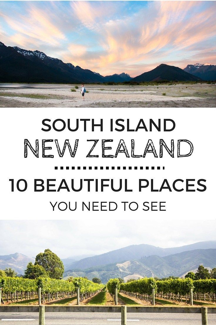 10 Beautiful Places You NEED to See in New Zealand                                                                                                                                                     More