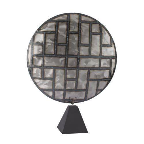 Dimond Home 153-014 Parquetry in Metal (Grey) Sculpture