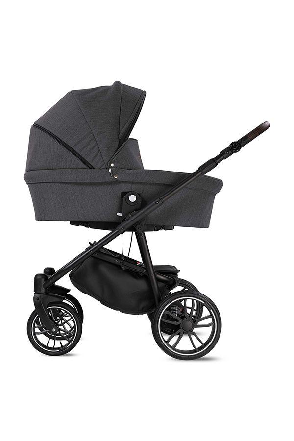 Minigo Beat Kombi Kinderwagen Farbe Anthrazit Kinderwagen