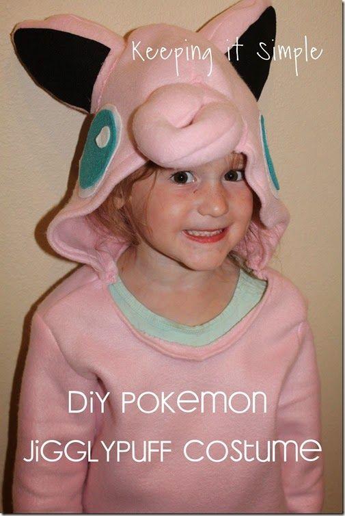 DIY Pokemon Jigglypuff costume #pokemon #costume #halloween @keepingitsimple