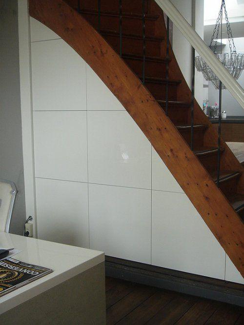 25 beste idee n over onder de trap opslag op pinterest trap opslag trap opslag en onder de trap - Handige trap ...