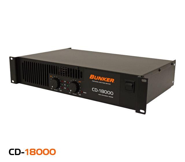 Amplificador de sonido, 2 canales, potencia de 460 W @ 8 Ω, respuesta en frecuencia de 10 Hz a 22 kHz en -0.1 dBu, distorsión del 0.05% @ 4 Ω en 1 kHz, factor de amortiguamiento (perdida) 500.