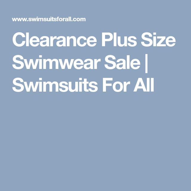 Clearance Plus Size Swimwear Sale | Swimsuits For All