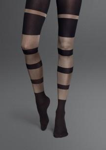 Nylon Tights Stripe