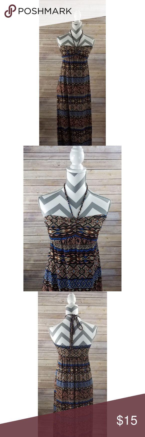 Tribal Maxi Dress Halter Maxi Dress. Forever 21. Forever 21 Dresses Maxi