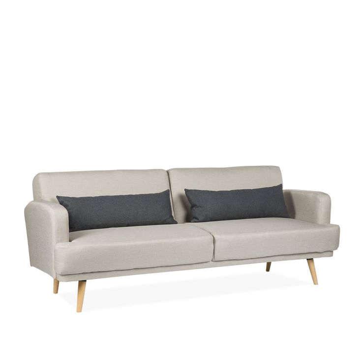 3 Sitzplätze Sofa In Bett Konvertierbar. Polyester Polsterung. Der Stoff  Kann