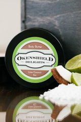 All Natural Body Butter - Lime and Coconut