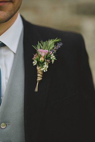 Really like the shape of this buttonhole - maybe with a little more width. Also really like the string wrapped ends.