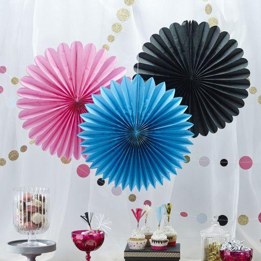 Papierfaecher – Confetti Party Serie
