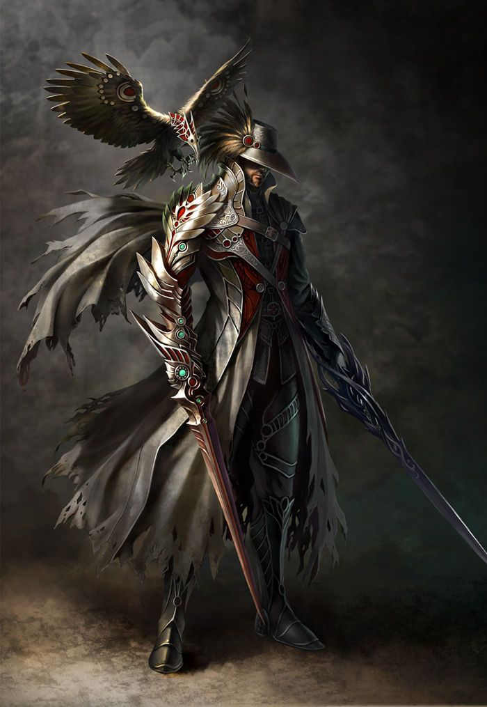 407 best images about Fantasy Art: Warriors & Hunters on ...