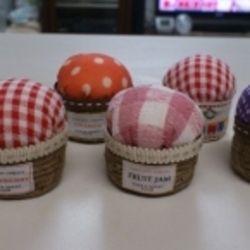 ボトルキャップで作る☆ジャム瓶型☆ピンクッションの作り方|ソーイング|編み物・手芸・ソーイング|アトリエ