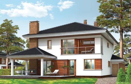 Zamów projekt domu Willa na Borowej, a otrzymasz 10% rabat od pracowni MG Projekt! #projekt #projektdomu #mgprojekt #willa #willanaborowej http://www.mgprojekt.com.pl/willa-na-borowej