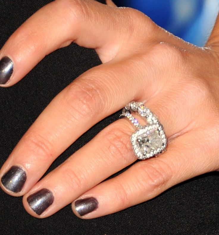 117 best Celebrity Engagement Rings images on Pinterest Celebrity