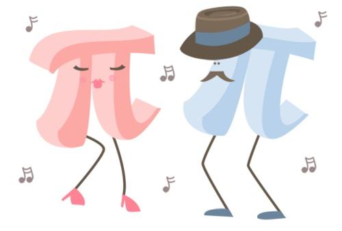 Girl pi and boy pi dancing!: Pi Day Math, Grade Math, Math Stuff, Girls Generation, Sweet Songs, Girls Pi, Nerd Geekeri, Music Playlists, Boys Pi