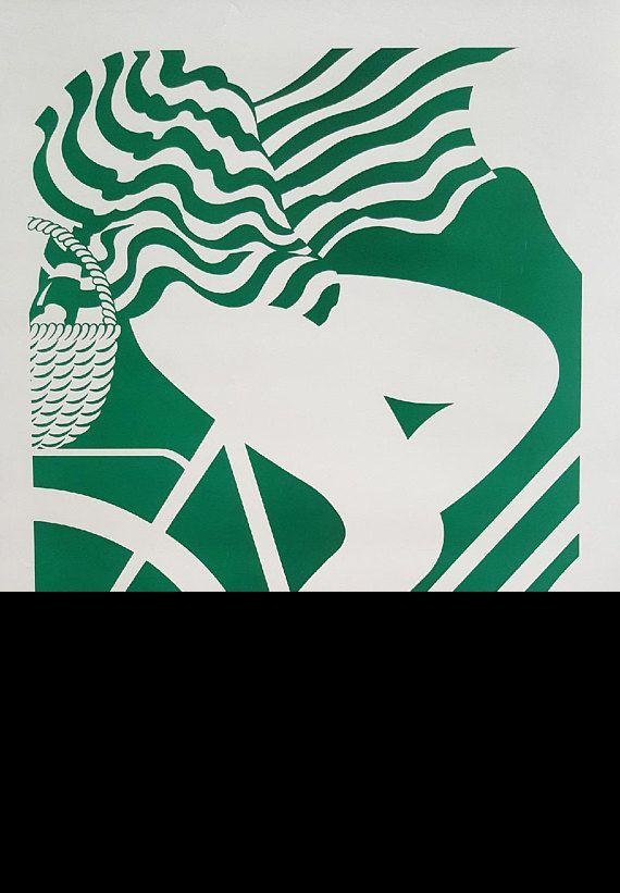 1985 Tuborg Beer Advertisement Bicycle  Original Vintage