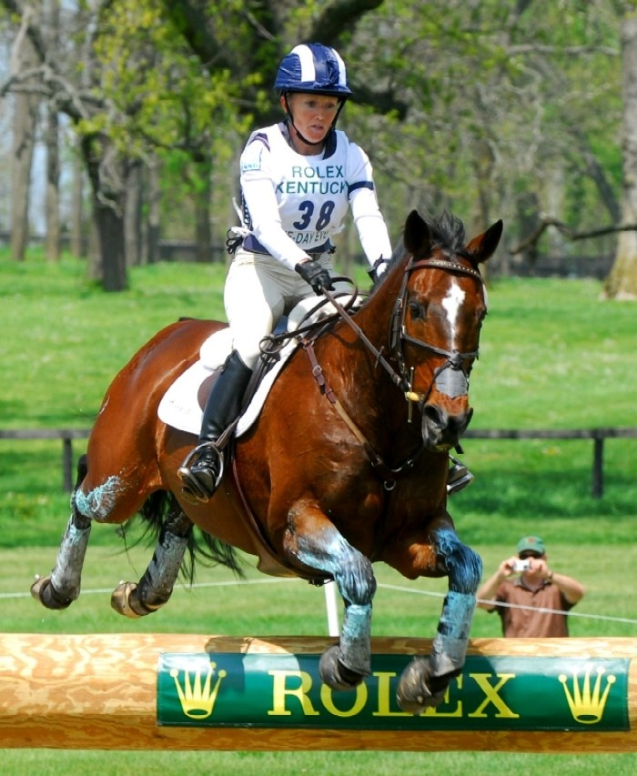Every April we would go to ROLEX Kentucky 3 Day Event... but, it became so popular & so crowded... These horses (Warm blood, mixes of thoroughbred, quarter horses & others) all are great athletes. Dressage the 1st day, Cross country the 2nd & Stadium jumping the 3rd. I'll miss ky...