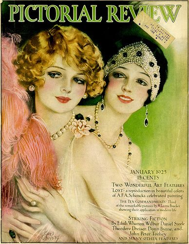 Vintage Magazine Covers by Earl Christy by Suzee Que, via Flickr