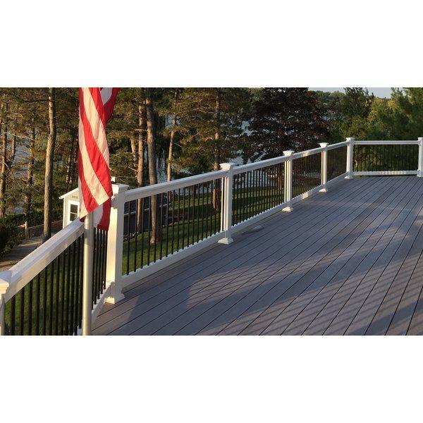 Beaumont Straight Railing Deck Railings Metal Stair Railing Stair Railing