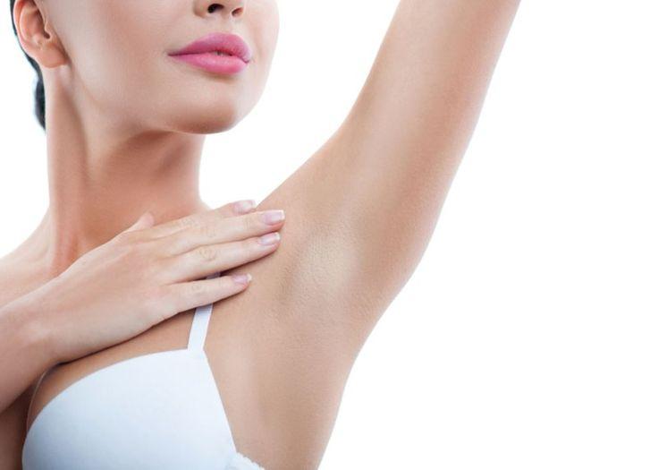 how to whiten dark underarms