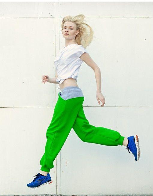 DISTENSE Yo Yo Green Pants