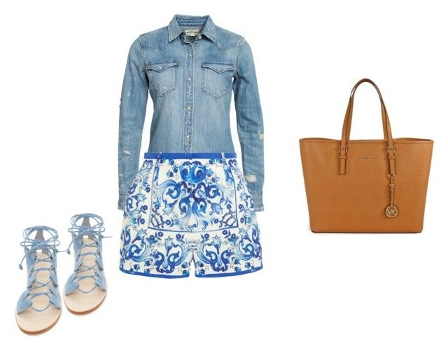 """Lunes de verano"" by damarislondon on Polyvore featuring moda, Denim & Supply by Ralph Lauren, Dolce&Gabbana, Cornetti y Michael Kors"