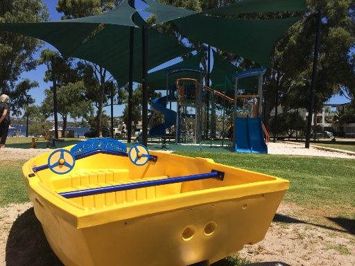 Keanes Point Peppermint Grove. Find out how far this playground is from your current location and get a map to take you there with the Kids Around Perth app available from Google Play or the App Store