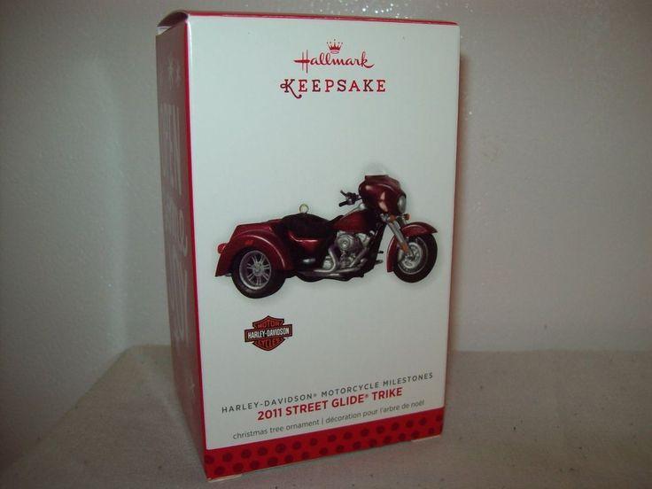 Hallmark Harley Davidson 2011 Street Glide Trike Milestone Ornament 2013