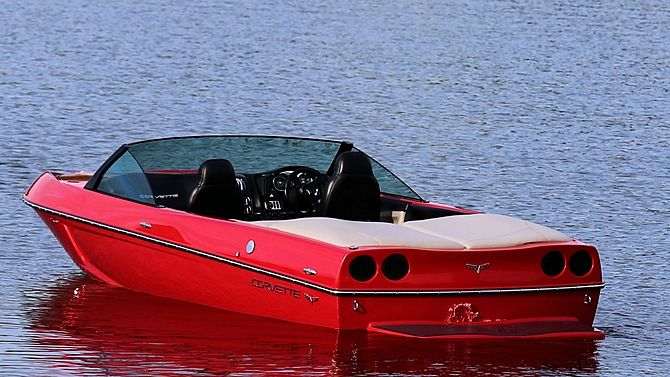 2008 Malibu Corvette Z06 Ski Boat No. 11 of 25 Produced