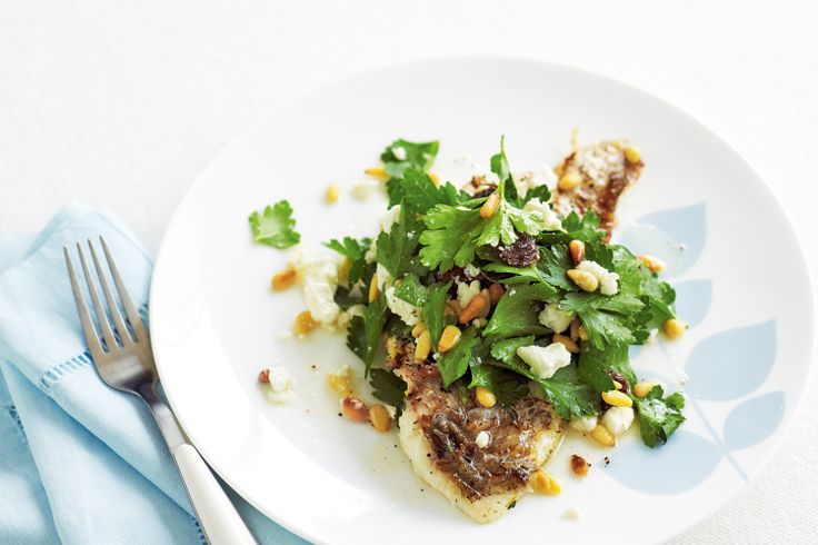 Low GI main: Not only is this snapper dish low-GI, low in saturated fat and lower in sodium, it's also a good source of protein and calcium.