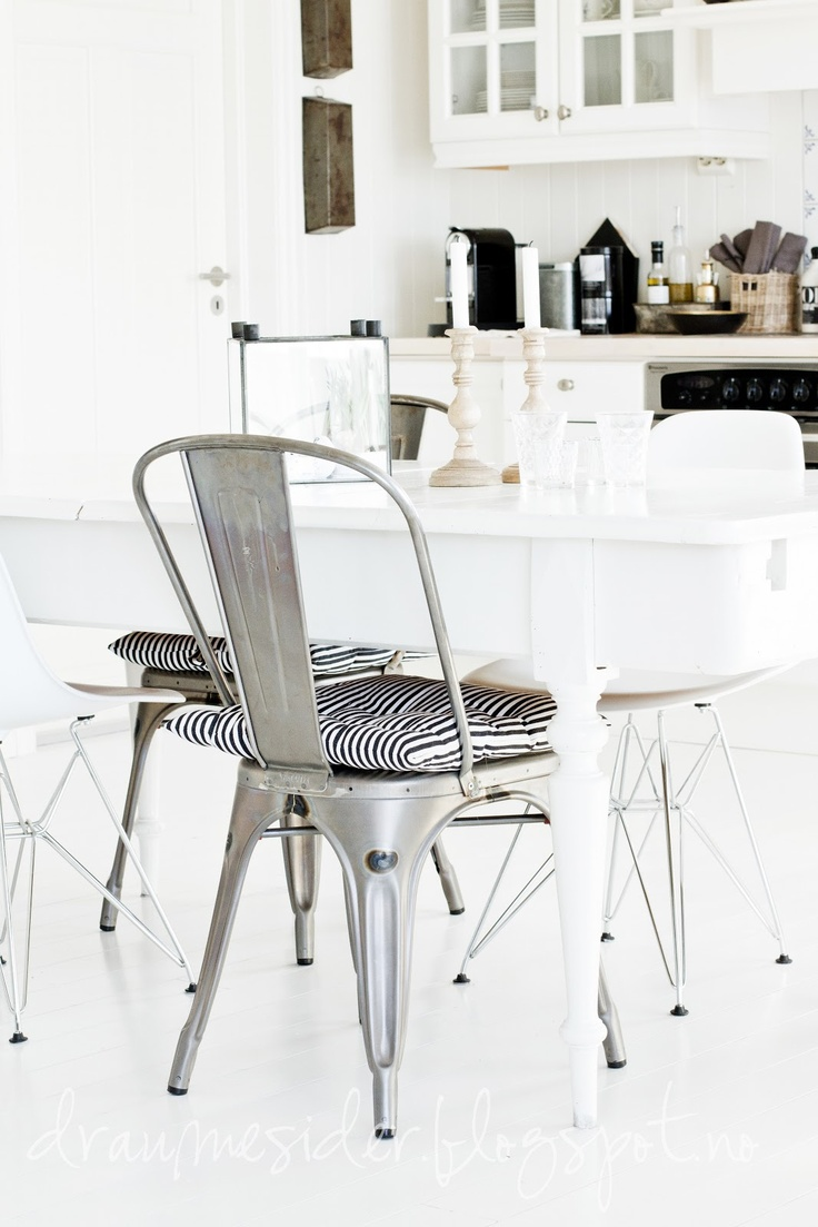 87 best Tolix Chair images on Pinterest | Chairs, Dining chairs ...