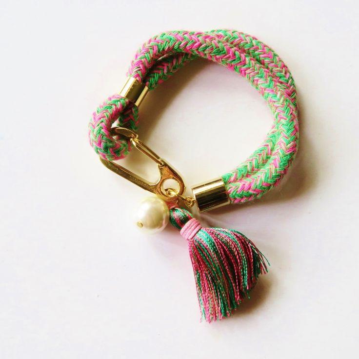 Spencer braided bracelet II on TROVEA.COM