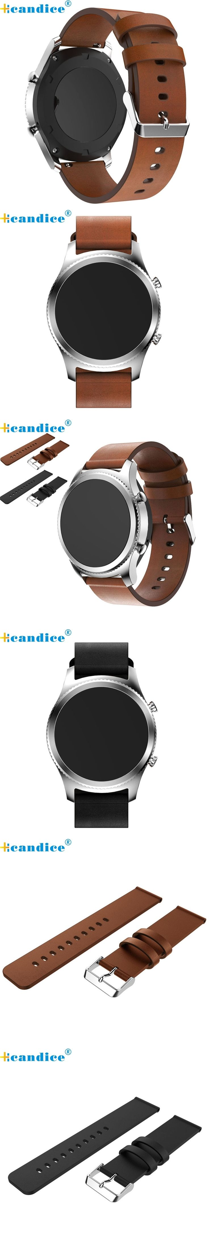 2017 Fashion Low Price Hot Sale OTOKY Replacement Leather Watch Bracelet Strap Band For Samsung Gear S3 Frontier wholesale No29