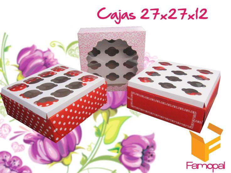 Cajas Cupcake...