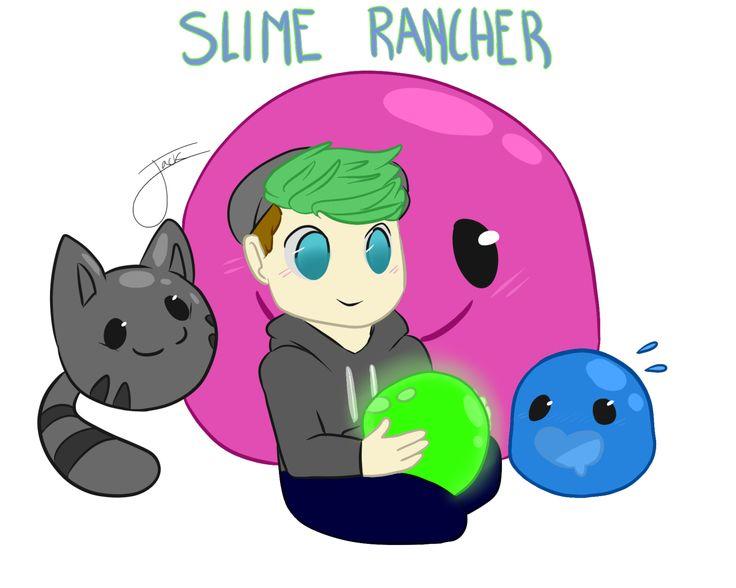 Jacksepticeye the Slime rancher