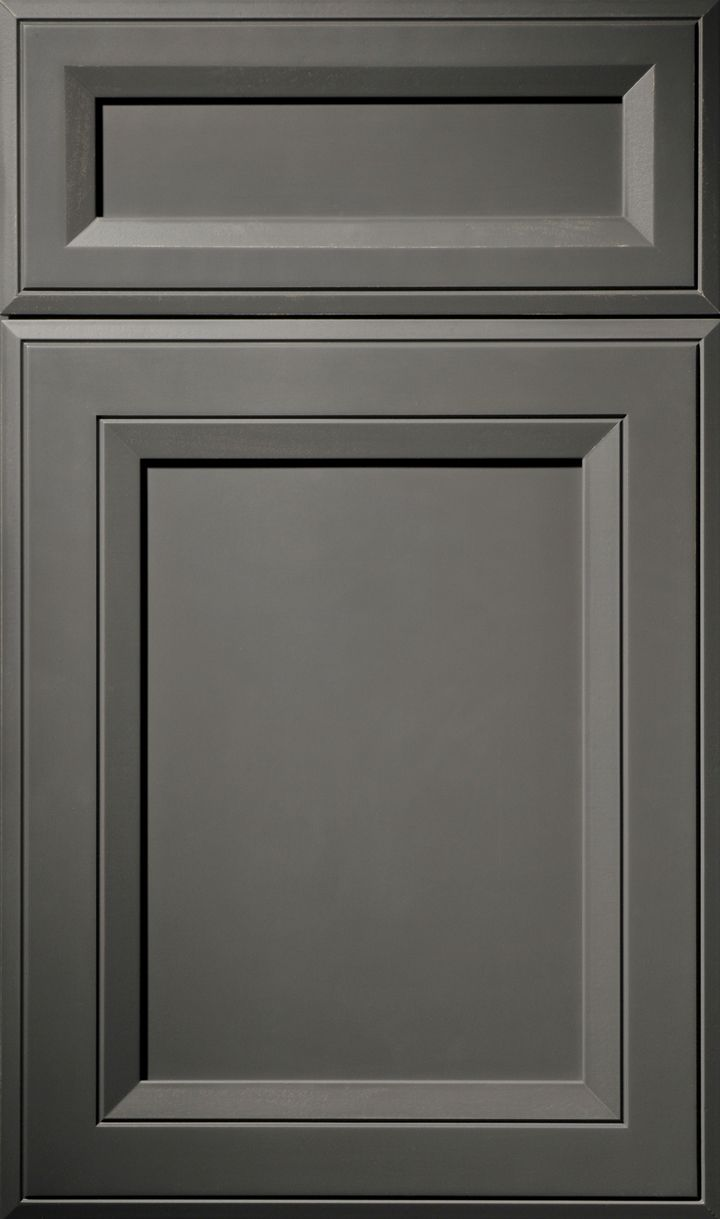 A Maple door done in the Soho Door Style and finished in Carbon