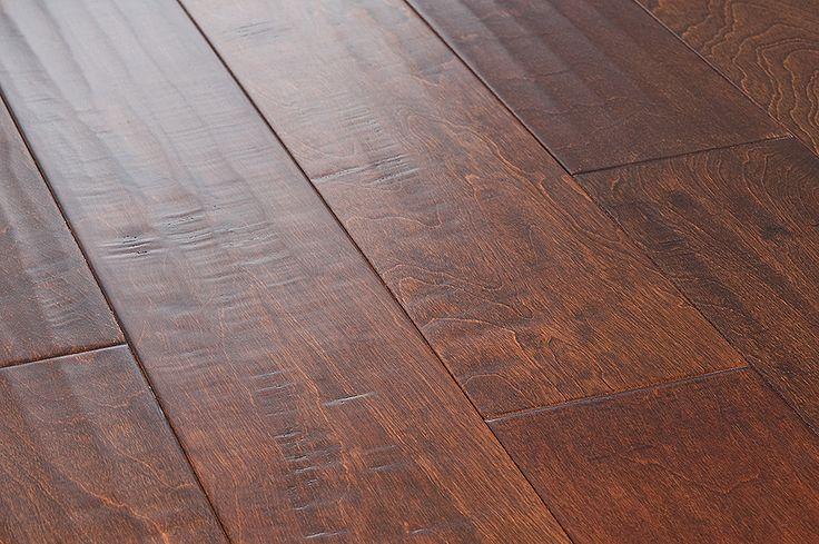 Engineered Hardwood - Birch Cosmopolitan Trendy Collection - Spice / Birch / Handscraped / 4 7/8 x 3/8