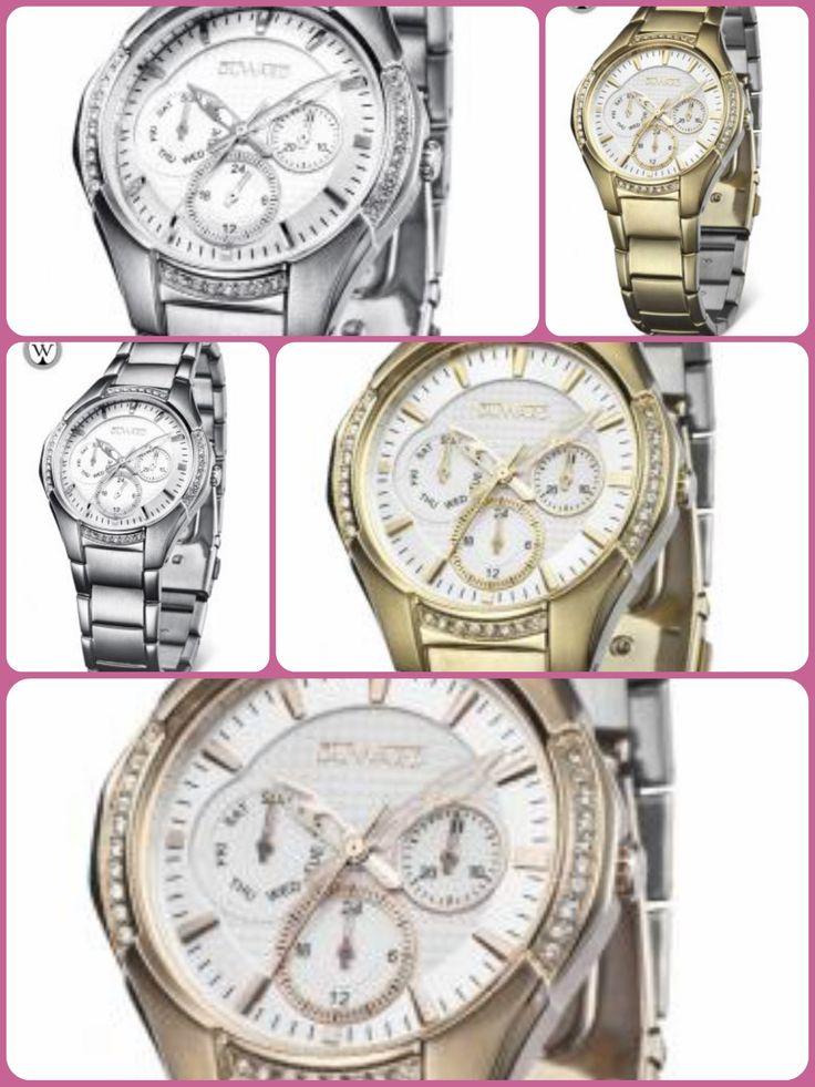 RELOJES SEÑORA #relojes #mujer #fashion #modas #complementos #chicas #blackfriday #reloj #tendencia #shopping   Los tienes en www.capricciplata.com y en  http://www.facebook.com/capricci.plata1