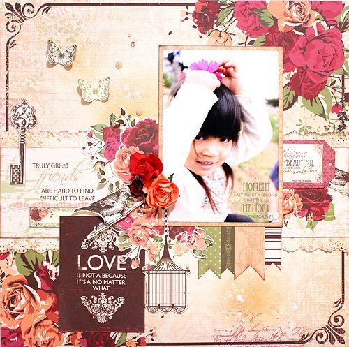 Kaisercraft Lady Rose - Kaori Fujimoto